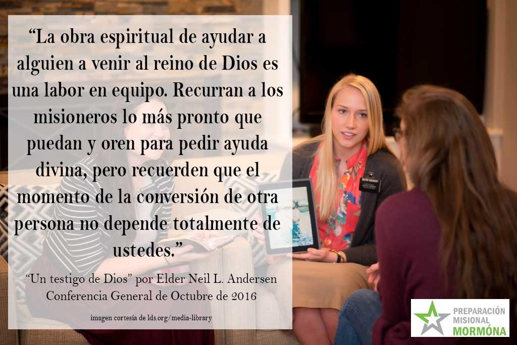 Preparación Misional de la Conferencia General de Octobre de 2016 ...