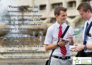 misioneros crecen fielmente viviendo la vida consagrada