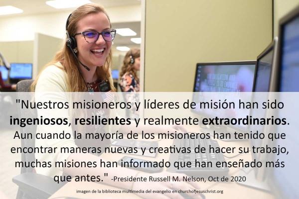 ingeniosos resilientes extraordinarios misioneros